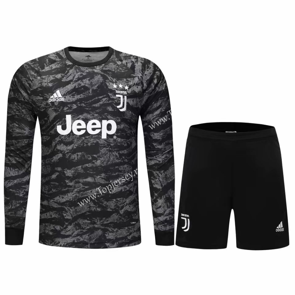 new product b1a1b 2a417 2019-2020 Juventus Goalkeeper Black LS Thailand Soccer ...