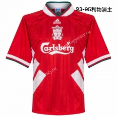 Retro Version 1993-1995 Liverpool Home Red Thailand Soccer Jersey AAA-811