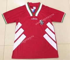 Retro Version 1994 Bulgaria Away Red Thailand Soccer Jersey AAA-DG