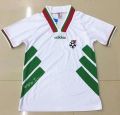 Retro Version 1994 Bulgaria Home White Thailand Soccer Jersey AAA-DG