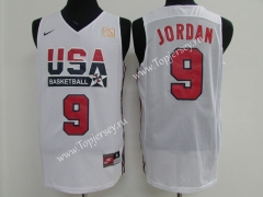 USA Jordan White #9 NBA Jersey