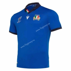 2019 World Cup Italy Blue Thailand Rugby Shirt