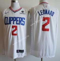 Los Angeles Clippers Printing White #2 NBA Jersey