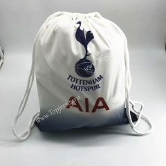 Tottenham Hotspur White Drawstring Bag