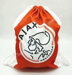 Ajax Orange Drawstring Bag