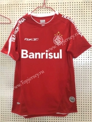 Retro Version 2006 Brazil SC Internacional Home Red Thailand Soccer Jersey AAA-811