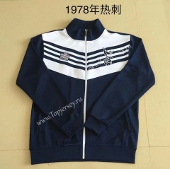 Retro Version 1978 Tottenham Hotspur Royal Blue Thailand Soccer Jacket -AY