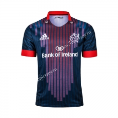 2019 Leinster Away Red&Blue Thailand Rugby Shirt