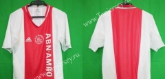 Retro Version 2004-2005 Ajax Red&White Thailand Soccer Jersey AAA-912