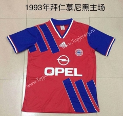 Retro Version 1993 Bayern München Home Red Thailand Soccer Jersey AAA-DG