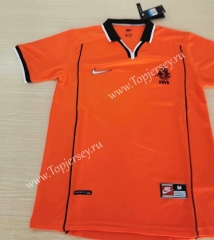 Retro Version 2019-2020 Netherlands Orange Thailand Soccer Jersey AAA