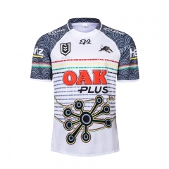 2019 Hero Edition Panthers White Thailand Rugby Jersey
