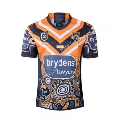 2019 Hero Edition Wests Tigers Thailand Rugby Jersey