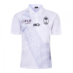 2019-2020 Fiji Home White Rugby Shirt