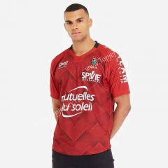 2019-2020 Toulon Home Red Thailand Rugby Shirt