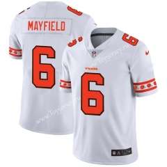 Cleveland Browns White #6 NFL Jersey