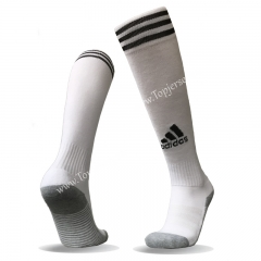 White Soccer Normal Socks