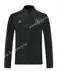 2019 -2020 Germany Balck (Ribbon) Thailand Soccer Jacket -LH