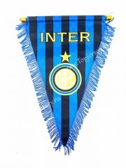 Inter Milan Blue Triangle Team Flag