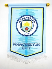 Manchester City Blue Diamond Team Flag