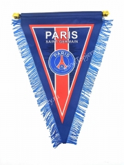 Paris SG Blue Triangle Team Flag