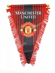 Manchester United Red Triangle Team Flag