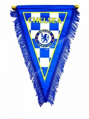 Chelsea Blue Triangle Team Flag
