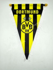 Borussia Dortmund Yellow&Black Triangle Team Flag
