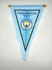 Manchester City Blue Triangle Team Flag
