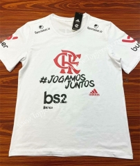 Champion Edition Flamengo White Thailand Soccer Jersey AAA-802