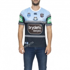 2020 Holden Away Blue&Black Thailand Rugby Shirt