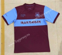 Commemorative Edition West Ham United Dark Red Thailand Soccer Jersey AAA-7T