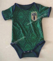 2020 European Cup Italy 2nd Away Green Baby Soccer Uniform