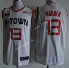 City Edition 2019-2020 Houston Rockets White #13 NBA Jersey
