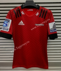 2020 Crusader Home Red Thailand Rugby Jersey