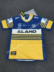 2020 Manna Fish Yellow&Blue Thailand Rugby Jersey