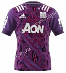 2020 Chiefs Purple Training Rugby Shirt