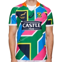 2020 South Africa Sevens Away Thailand Rugby Jersey