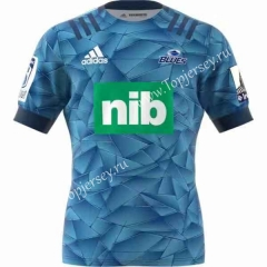 2020 Blues Home Blue Thailand Rugby Shirt