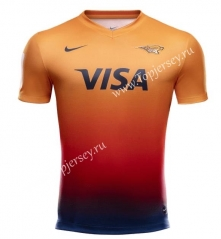 2020 Panthers Home Orange Thailand Rugby Jersey
