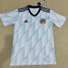 2020 European Cup Scotland Away White Thailand Soccer Jersey AAA