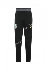 2020 Brazil Black Thailand Training Soccer Jacket Long Pants-LH