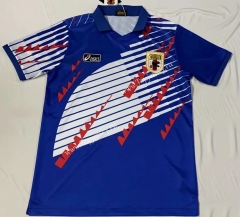 Retro Version 1994 Japan Home Blue Thailand Soccer Jersey AAA