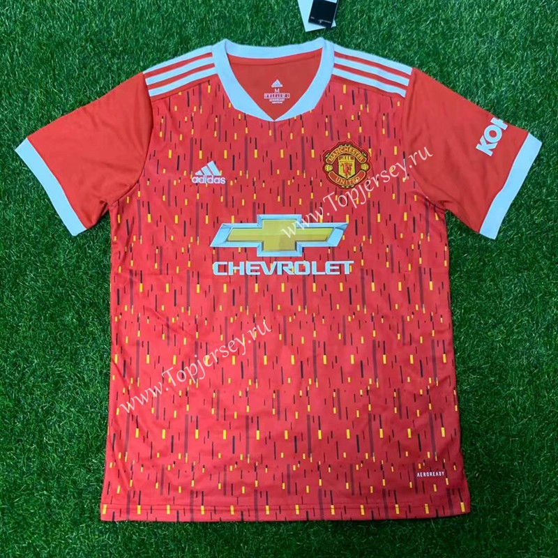 2020-2021 Manchester United Home Red Thailand Soccer ...
