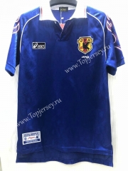 Retro Version 1998 Japan Home Blue Thailand Soccer Jersey AAA