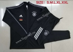 2020-2021 Germany Black Thailand Soccer Jacket Unifrom-815