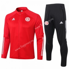 2020-2021 Brazil SC Internacional Red Thailand Soccer Jacket Uniform-815