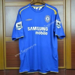 100th Anniversary Edition Chelsea Home Blue Thailand Soccer Jersey AAA
