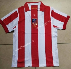 Retro Version 1903-2003 Atletico Madrid Home Red & White Thailand Soccer Jersey AAA-912
