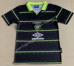 Retro Version 1998 Celtic Black Thailand Soccer Jersey AAA-DG